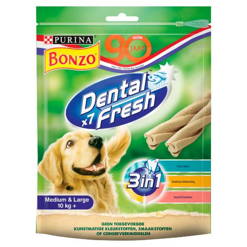 Bonzo Dental Fresh 3 in 1 Sticks 7 Stuks 180 g (180g)