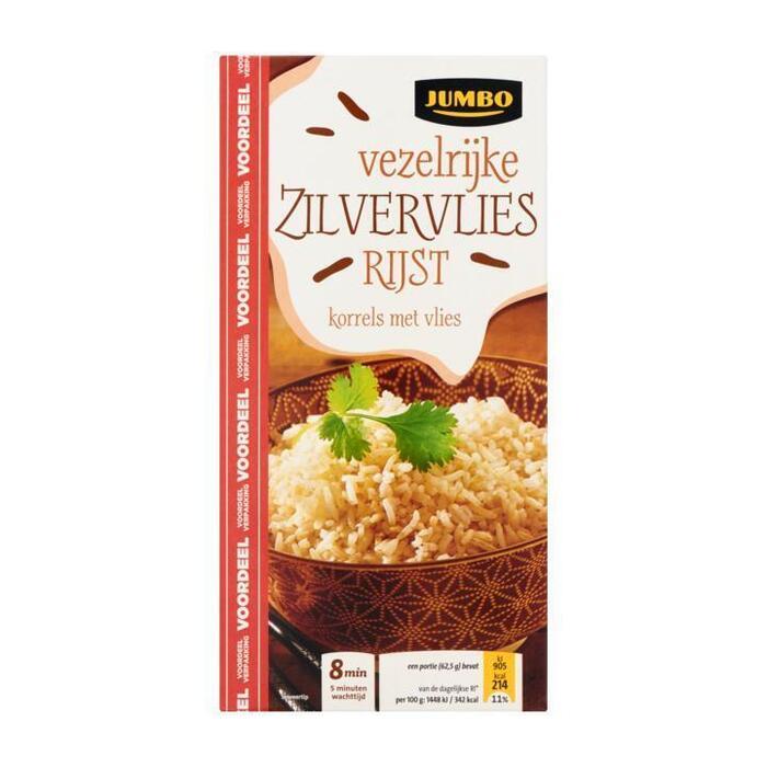 Jumbo Vezelrijke Zilvervlies Rijst Voordeel 1000g (1kg)