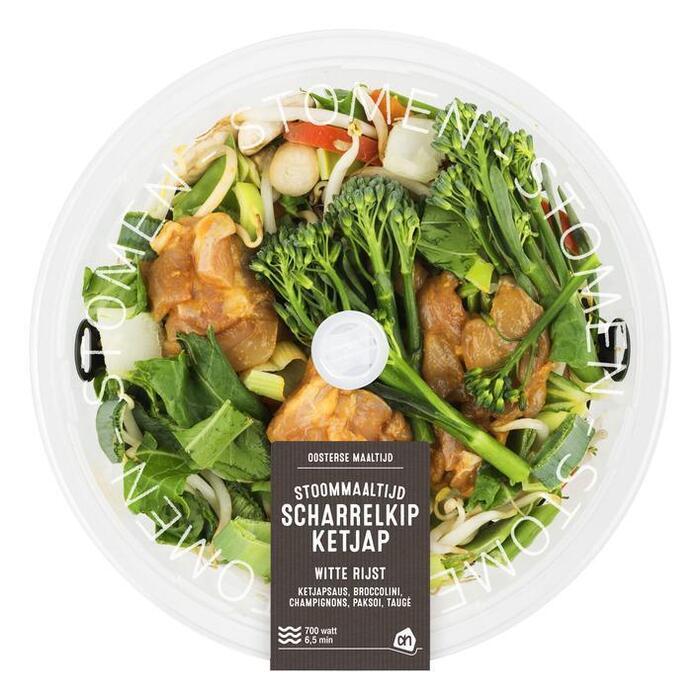 Stoommaaltijd kip-ketjap (450g)