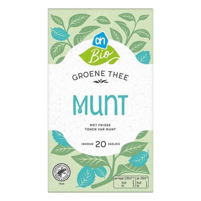 AH Biologisch Groene thee mint