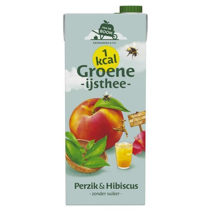 Van de Boom Groene thee Perzik - Hibiscus 1,5 L (1.5L)