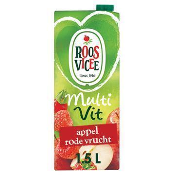Roos Vicee, Multi Vit Appel Rode Vrucht (rol, 1.5L)