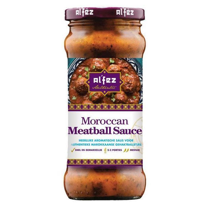 Moroccan, Meatball Saus (Pot, 350g)