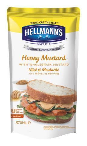 Hellmann's Sandwich Saus Honing Mosterd (5 × 0.57L)