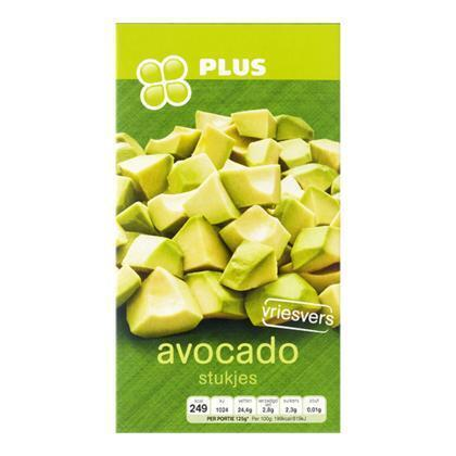 PLUS Avocadostukjes (250g)