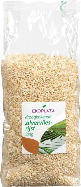 Zilvervlies rijst lang (zak, 1kg)