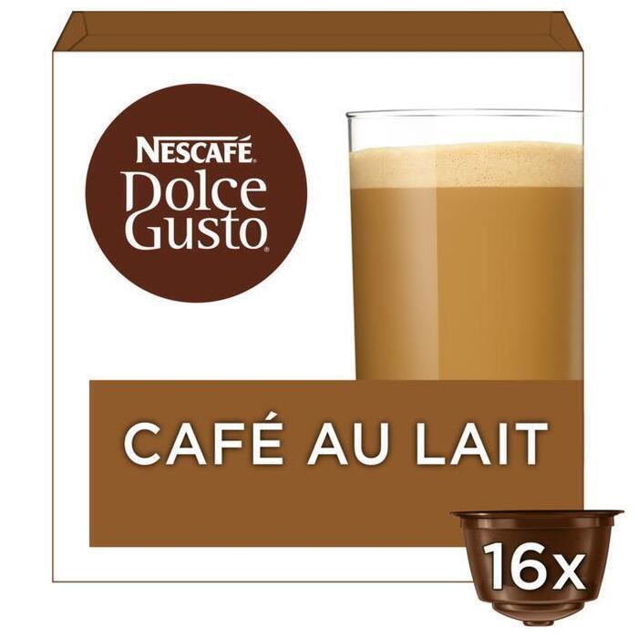 Dolce Gusto Café au Lait (16 stuks)( (Stuk, 16 × 160g)