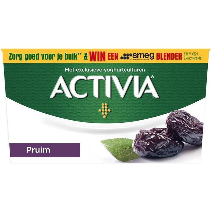 Danone Activia yoghurt pruim (4 × 125g)