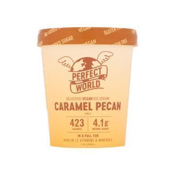 Perfect World Ice Cream Caramel Pecan 500 ml (0.5L)