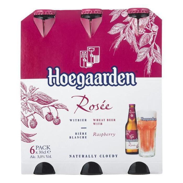 HOEGAARDEN ROSEE CLUSTER Speciaalbieren (6 × 30cl)