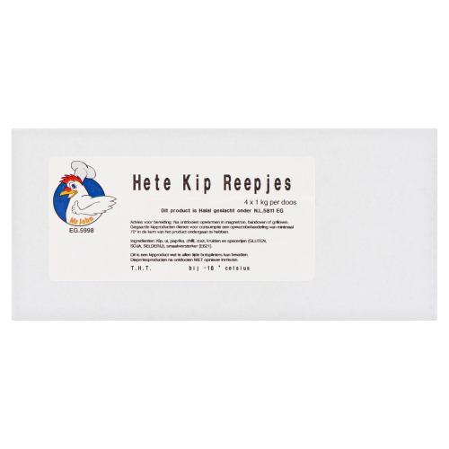 Mr John Hete Kip Reepjes 4 x 1 kg (1kg)