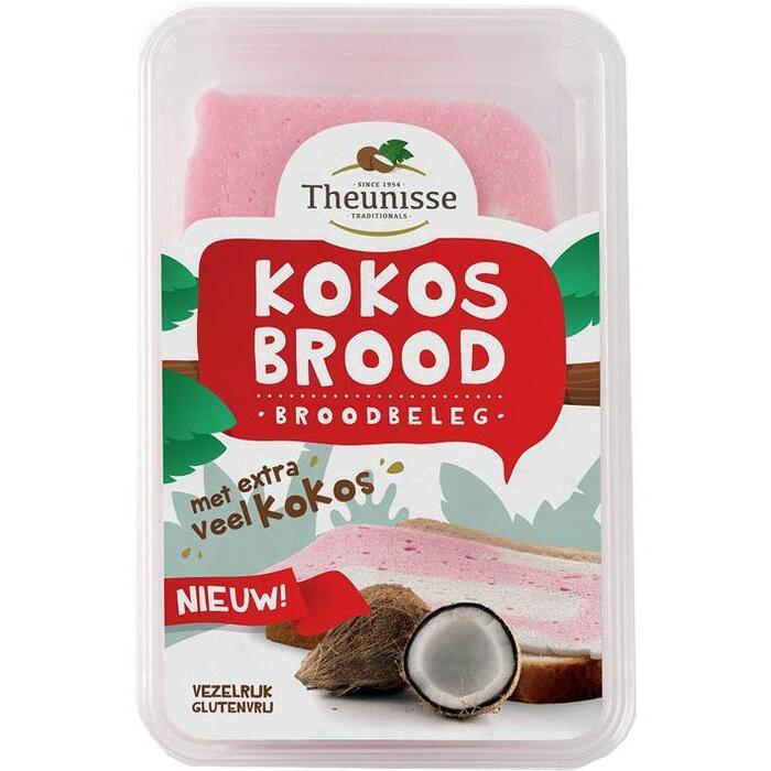 Kokosbrood meer kokos (Stuk, 275g)
