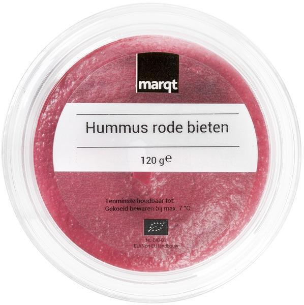 Rode bieten hummus (120g)