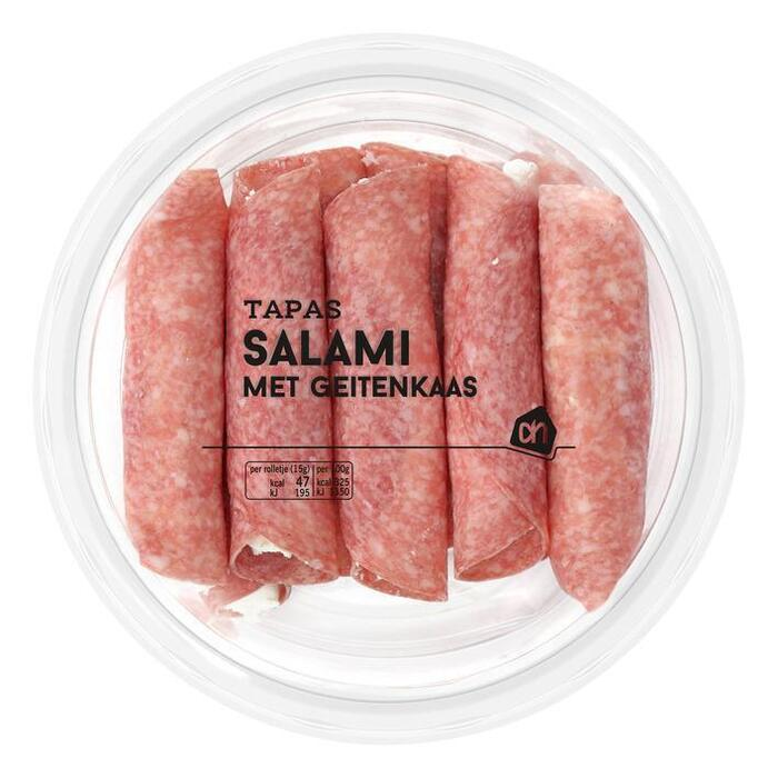 Salami gevuld met geitenkaas (85g)