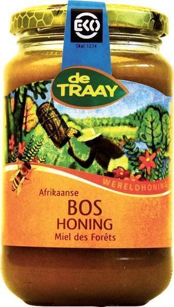 De Traay, Afrikaanse Bos Honing, Biologisch (pot, 450g)