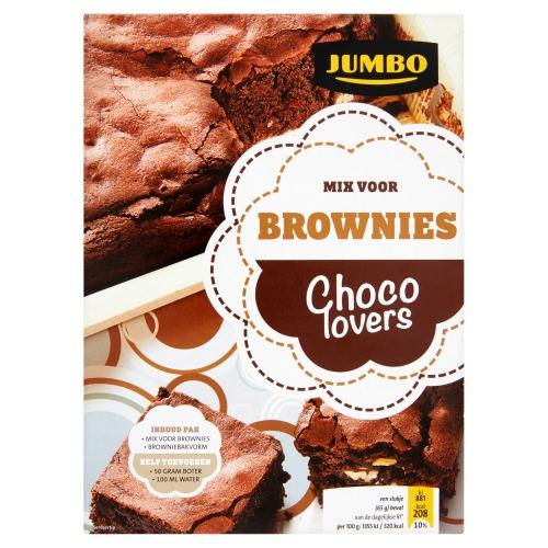 Jumbo Mix voor Brownies Chocolovers 360g (360g)
