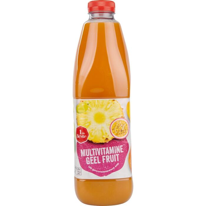 Multivitamine fruitdrank geel fruit (1.5L)