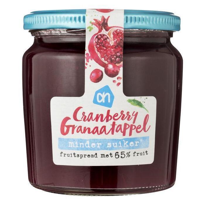 AH Cranberry- granaatappel fruitspread (320g)