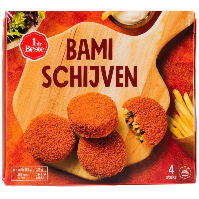Bamischijf 4 stuks (320g)