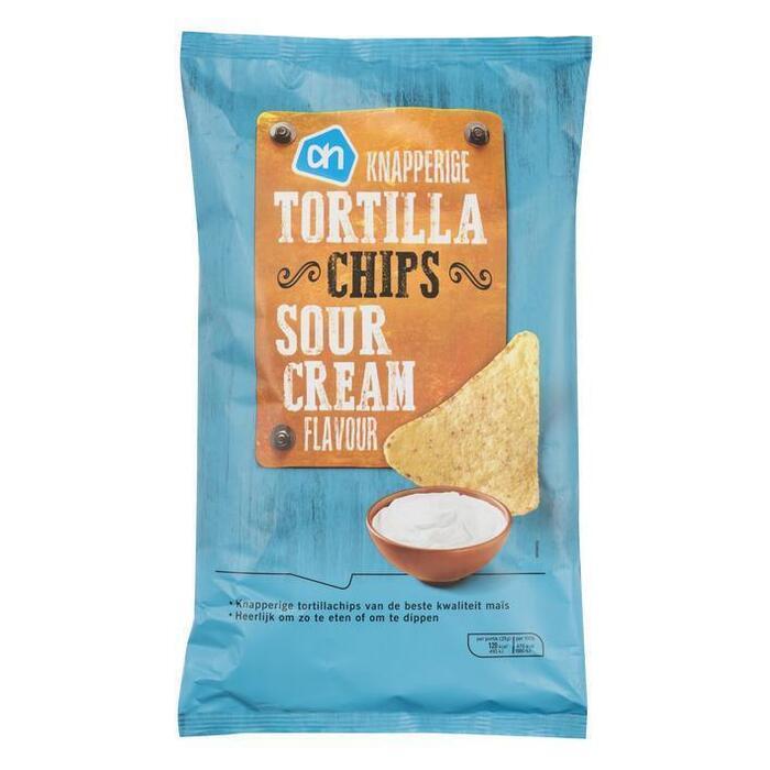 AH Knapperige tortilla chips sour cream (150g)