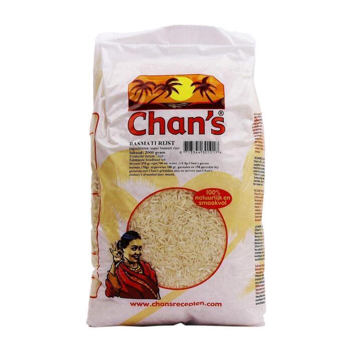 Chan's Basmati Rijst (2kg)