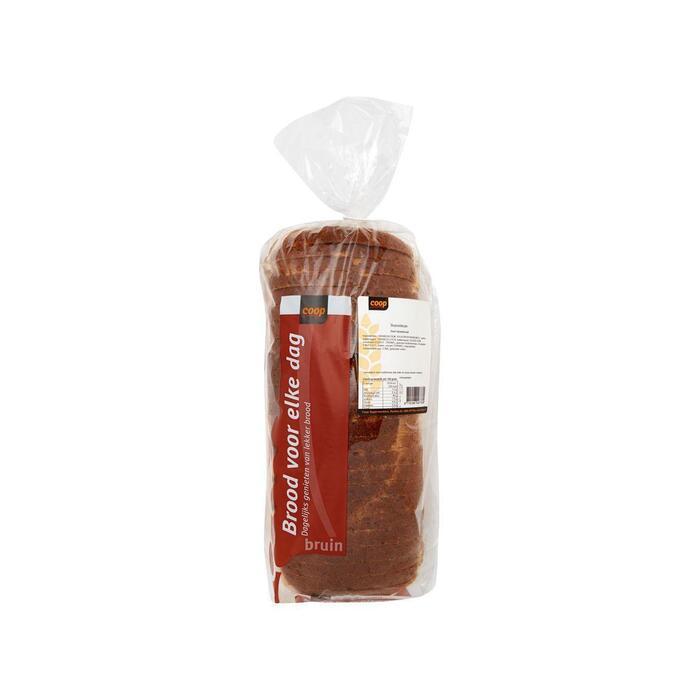 Coop Boeren bruin brood heel (800g)