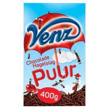 Chocoladehagelslag puur (Stuk, 400g)
