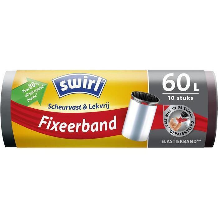 Swirl Afvalzakken fixeerband 60 liter