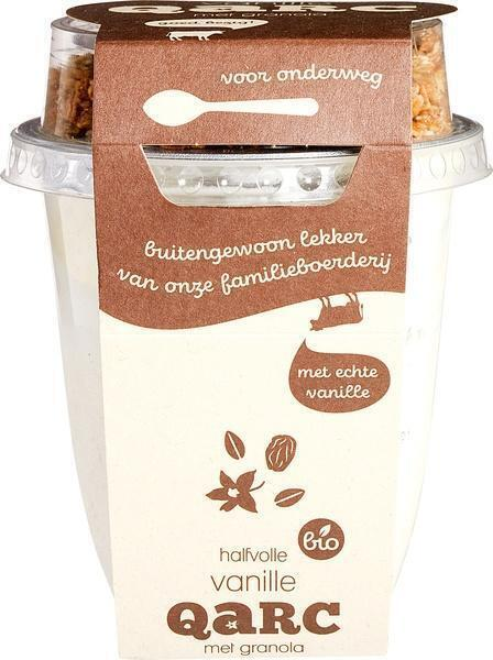 Halfvolle vanillekwark granola (250g)