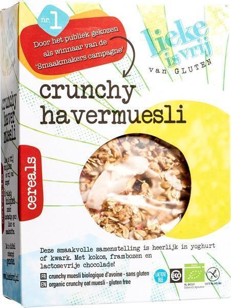 Crunchy havermuesli (350g)