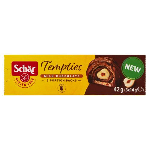 Schär Tempties Milk Chocolate 3 x 14 g (14g)