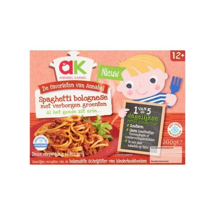 Annabel Karmel Spaghetti Bolognese met Verborgen Groenten 200g (200g)