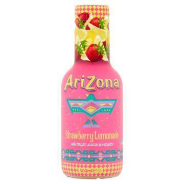 Arizona Cowboy Cocktail Strawberry Lemonade 500 ml (0.5L)