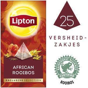 Lipton Excl Select Rooibos 25S 6X (bak, 50 × 50g)