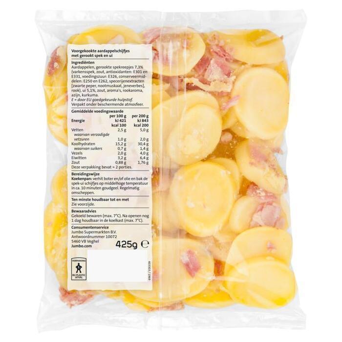 Jumbo Aardappelschijfjes met Spek en Ui 425 g (425g)