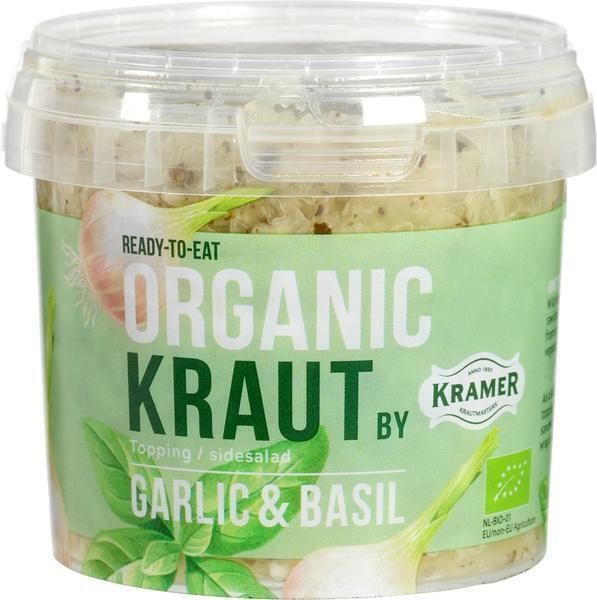 Zuurkool knoflook/basilicum (300g)
