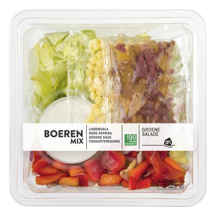 AH Groene salade boerenmix (bak, 295g)