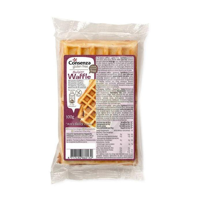 Consenza Brusselse wafels (100g)