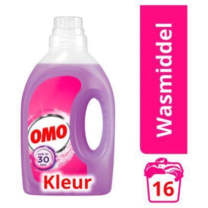 Omo Wasmiddel Vloeibaar Color 16 Wasbeurten (Stuk, 1L)