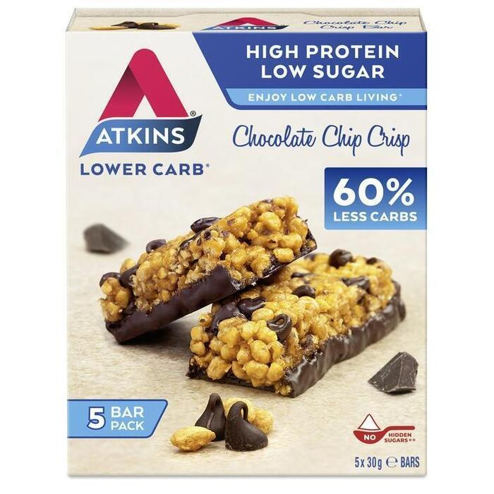 Atkins Chocolate chip crisp (150g)