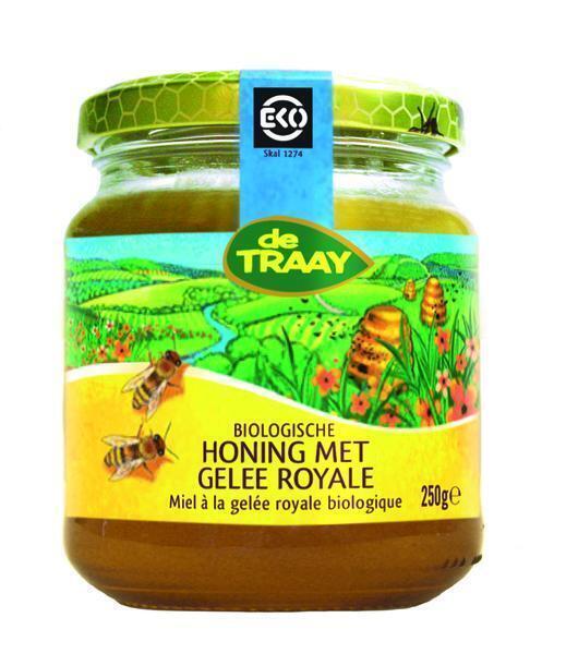 Honing met gelee royale (250g)