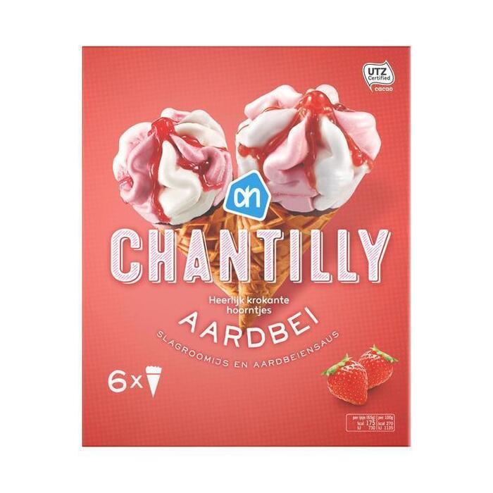 Chantilly aardbei