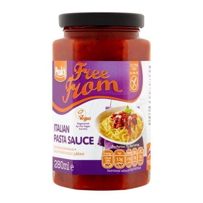 Free From Italiaanse Pastasaus (280ml)