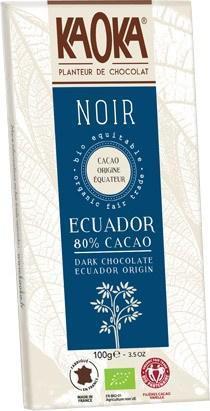 Bio Dark Chocolate Ecuador 80% Cacao (100g)