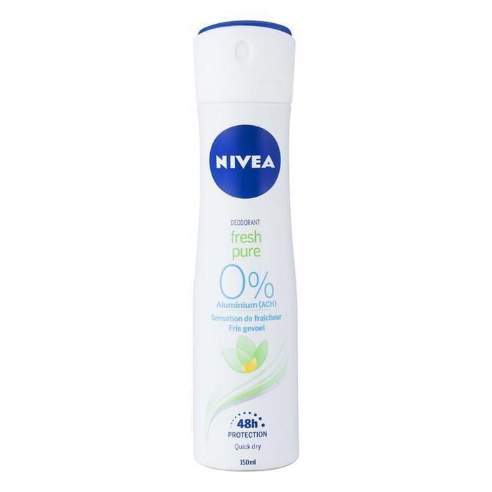 Nivea Deodorant Fresh Pure 48h Protection 150 ml (150ml)