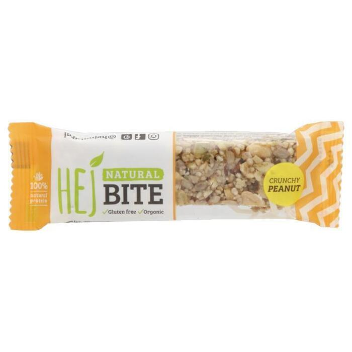 Hej Natural bite crunchy peanut bio (40g)
