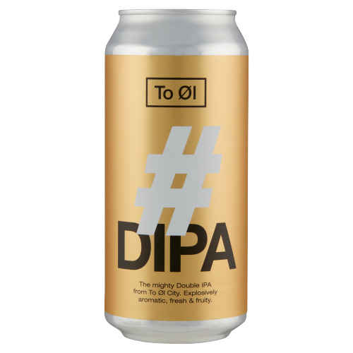 To Øl - #Dipa - Blik 440ML (44cl)