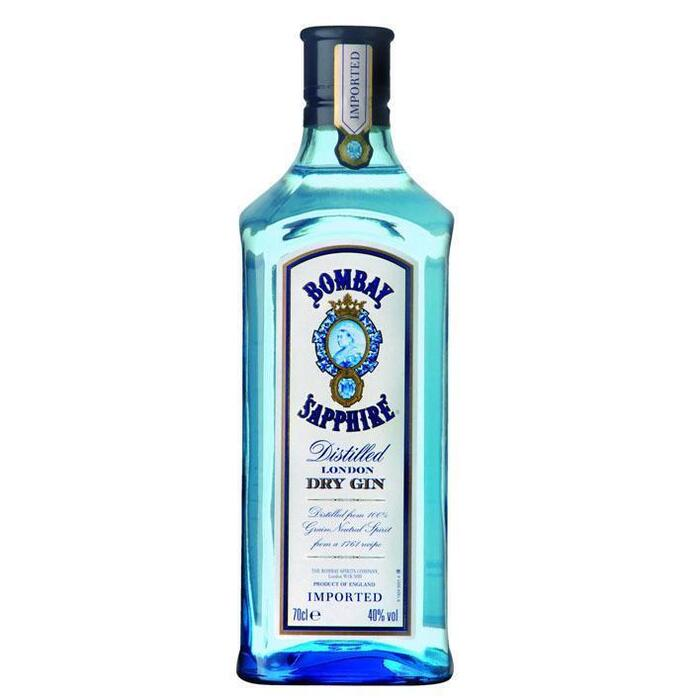 Bombay Sapphire Dry gin (rol, 0.7L)