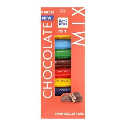 Ritter Sport Mini Chocolate Mix 9 x 16,67 g (150g)