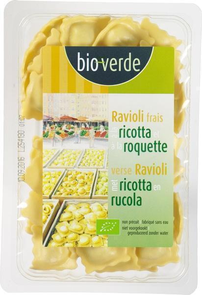 Ravioli met ricotta (bak, 250g)